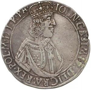 Jan II Kazimierz, Talar Kraków 1649 GP - półpostać - B.RZADKI