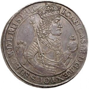 Jan II Kazimierz, DWUTALAR Gdańsk 1650 GR - pierwszy - RZADKOŚĆ