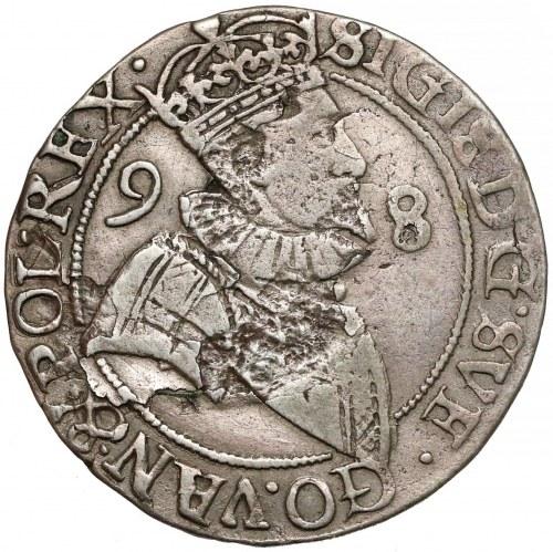 Zygmunt III Waza, 4 öre Sztokholm 1598 - RZADKIE