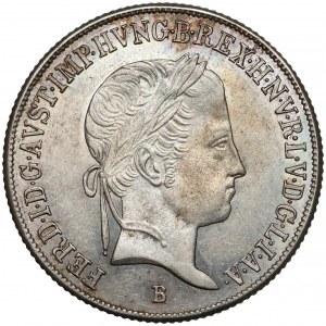 Węgry, Ferdynand I, 20 krajcarów 1845-B