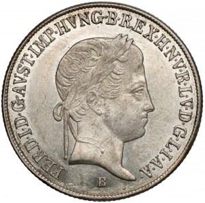 Węgry, Ferdynand I, 20 krajcarów 1848-B