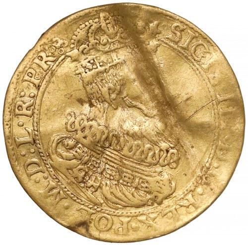 Zygmunt III Waza, Dukat Gdańsk 1614 - wąska kryza - RZADKOŚĆ