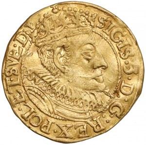 Zygmunt III Waza, Dukat Gdańsk 1596 - folgowa - b.rzadki