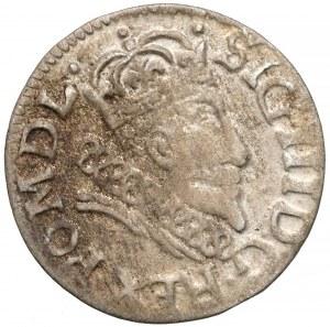 Zygmunt III Waza, Grosz Wilno 1607 - błąd DA.LI