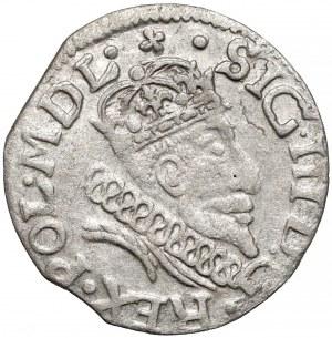 Zygmunt III Waza, Grosz Wilno 1608 - portretowy