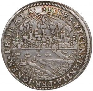 Zygmunt III Waza, Talar Toruń 1629 (Brandtalar) - płonące miasto - b. rzadki