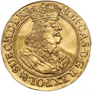 Jan II Kazimierz, Dukat Gdańsk 1660 DL - rzadkie popiersie