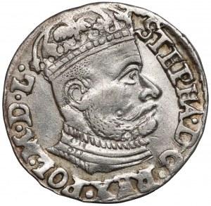 Stefan Batory, Trojak Olkusz 1583 - ID nisko