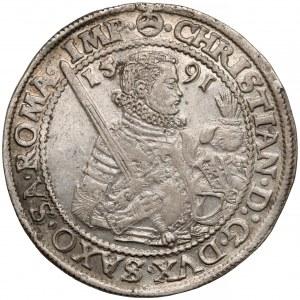 Niemcy, Saksonia, Talar Drezno 1591 HB