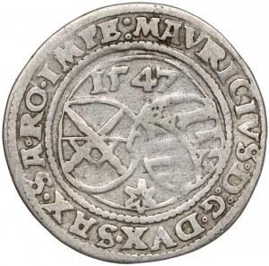 Niemcy, Saksonia, 1/4 talara Freiberg 1547