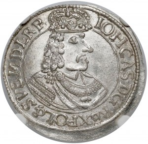Jan II Kazimierz, Ort Toruń 1665 HDL - OKAZOWY