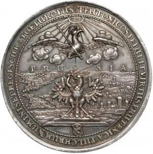 Jan II Kazimierz, Medal 200-lecie przyłączenia Prus do Polski 1654 r. (Höhn)