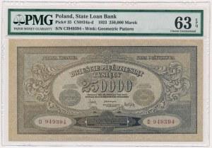250.000 mkp 1923 - CI - numeracja szeroka