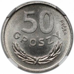 Próba NIKIEL 50 groszy 1949