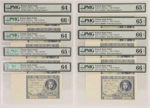 5 złotych 1930 - PMG 66-64 (10szt)