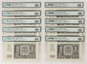 20 złotych 1940 - K - PMG 66 EPQ (10szt)