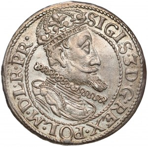 Zygmunt III Waza, Ort Gdańsk 1614 - bardzo ładny