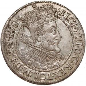 Zygmunt III Waza, Ort Gdańsk 1616 SA - szeroka kryza