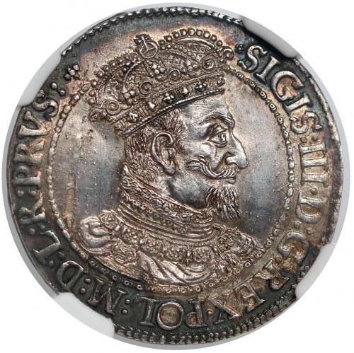 Zygmunt III Waza, Ort Gdańsk 1616 SA - kołnierz - piękny