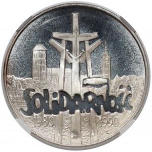 100.000 złotych 1990 Solidarność - odm. A