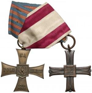 PSZnZ zestaw Krzyż Walecznych i Monte Cassino