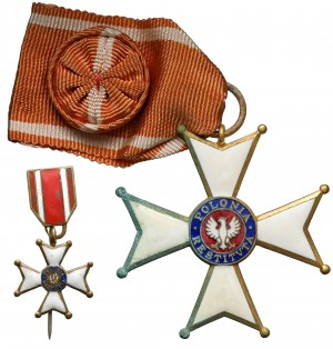 Krzyż Oficerski Orderu Odrodzenia (IV kl.)