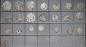 Monety Polski Królewskiej od Aleksandra do Augusta III (22szt)