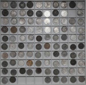 Królestwo Polskie, Duży zestaw 10 i 20 fenigów (96szt)