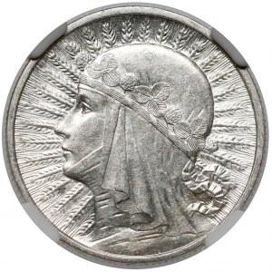 Głowa Kobiety 2 złote 1933