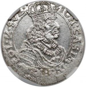 Jan II Kazimierz, Szóstak Bydgoszcz 1661 TT