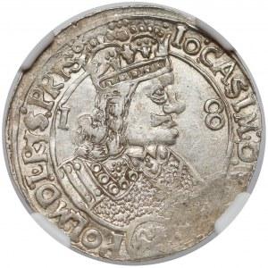 Jan II Kazimierz, Ort Lwów 1656 - piękny