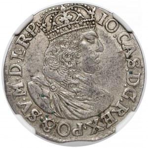 Jan II Kazimierz, Ort Kraków 1658 TLB - bez obwódek