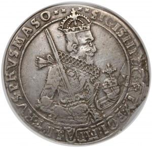 Zygmunt III Waza, Talar Bydgoszcz 1630 - wąskie popiersie z szarfą - NGC VF30