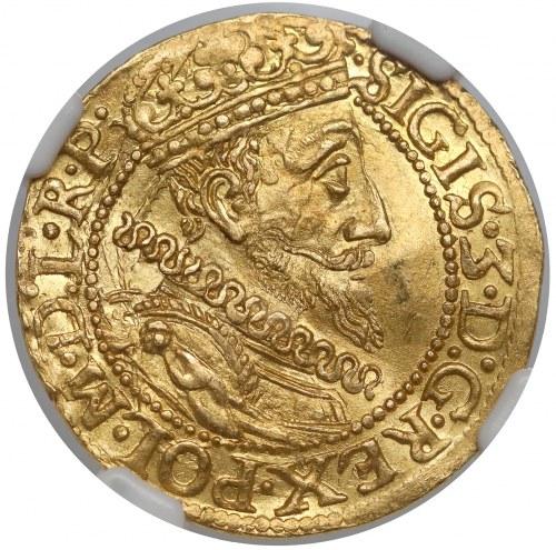 Zygmunt III Waza, Dukat Gdańsk 1612 - mała data - menniczy