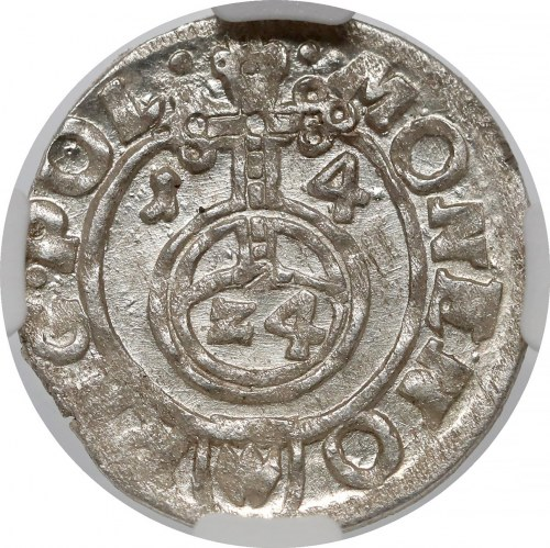 Zygmunt III Waza, Półtorak Bydgoszcz 1614 - piękny