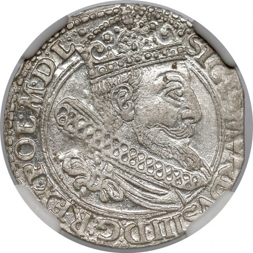 Zygmunt III Waza, Grosz Kraków 1604 - Lewart - b. ładny