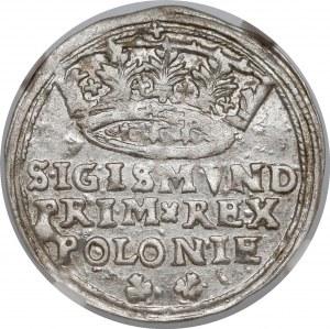 Zygmunt I Stary, Grosz Kraków 1545 - bardzo ładny