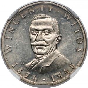 Destrukt 100 złotych 1984 Witos - końcówka blachy