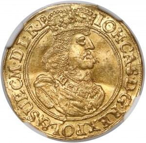 Jan II Kazimierz, Dukat Gdańsk 1662 DL