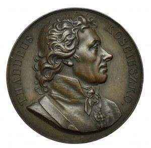 USA, Medal Kościuszko seria sławnych postaci Duranda 1818