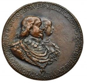 Polska, Medal Władysław IV - brąz kopia kolekcjonerska