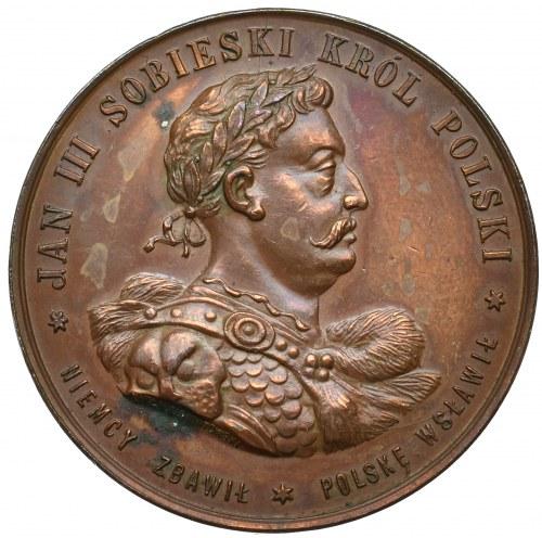 Polska, Medal Jan III Sobieski dwieście lat odsieczy wiedeńskiej 1883