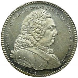 Polska, medal Akademii Stanisławowskiej 1750 srebro