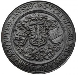 Polska, Zygmunt I Stary, Medal 1527 - XIX wieczna kopia kolekcjonerska