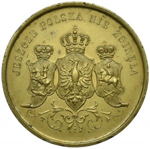 Polska, XIX wiek, Medal patriotyczny