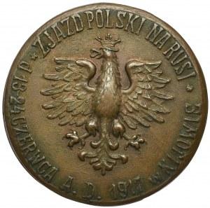 Polska, Medal III Zjazd Polski na Rusi Kijów 1917