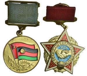 Afganistan + ZSRR zestaw odznaczeń