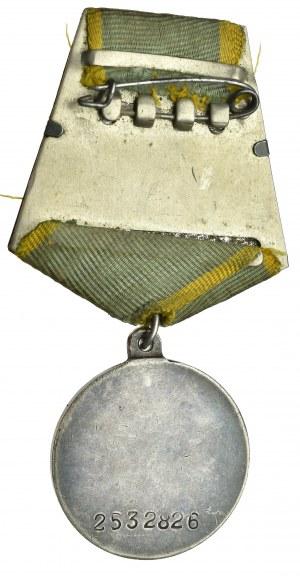 ZSRR, Medal za zasługi bojowe - typ 2 wariant 3.1