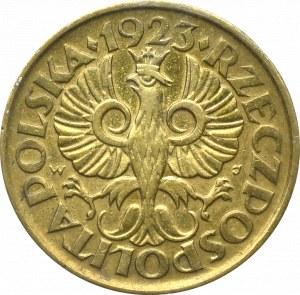 II Rzeczpospolita, 5 groszy 1923 - GCN MS63