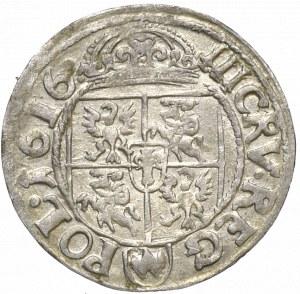 Zygmunt III Waza, 3 krucierze 1616 Kraków - nieopisany POL